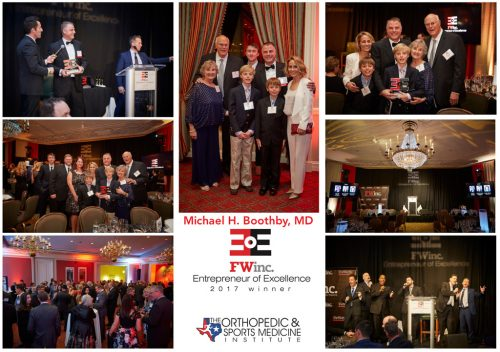 Entrepreneur of Excellence (EOE) Award Michael Boothby, MD
