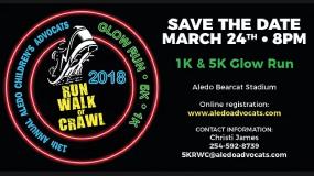 OSMI Sponsors AdvoCats Glow Run