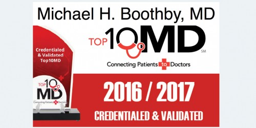 Michael H. Boothby, MD The Orthopedic & Sports Medicine Institute