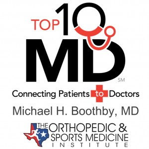 Voted the Top 10 MD Orthopedic Surgeons.