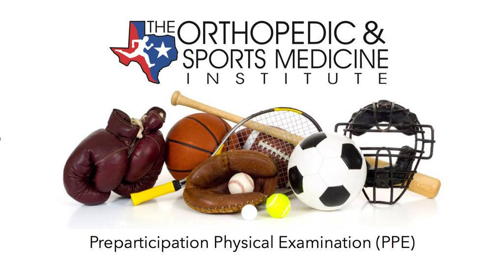 Preparticipation sports physicals examinations