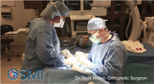 Dr Moore at Orthopedic Surgery and Sports Medicine Institute of Fort Worth