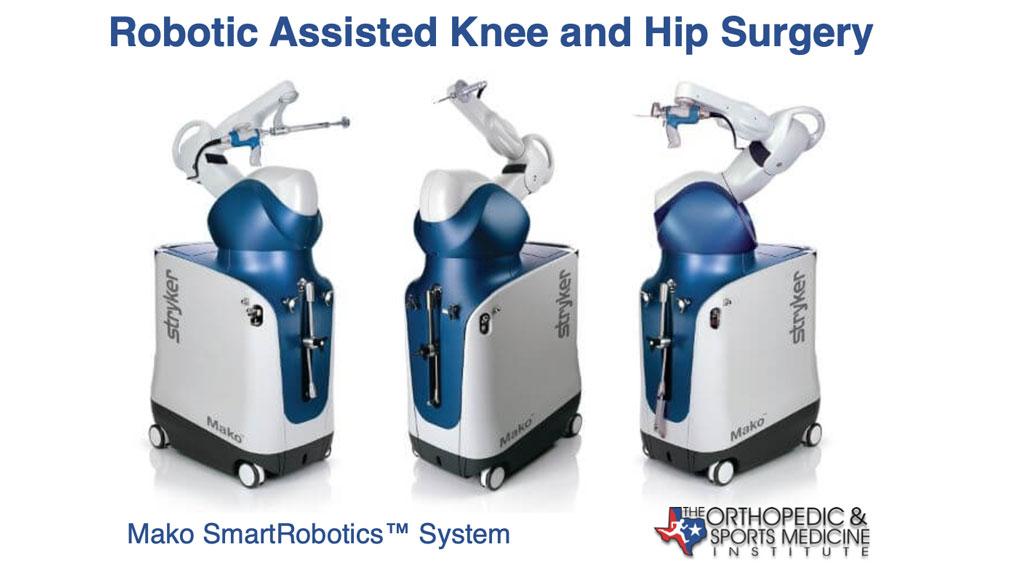 OSMI Mako SmartRobotics™ Robotic Assisted Knee and Hip Surgery